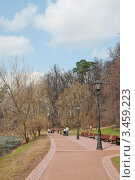 Весенний парк. Стоковое фото, фотограф Сергей Родин / Фотобанк Лори