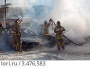 Горящие машины (2012 год). Редакционное фото, фотограф Alexander Dmitriev / Фотобанк Лори