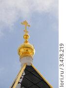 Купить «Купол. Монастырь в Звенигороде.», фото № 3478219, снято 4 марта 2012 г. (c) Евгения Плешакова / Фотобанк Лори