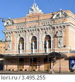 Купить «Цирк в Санкт-Петербурге», эксклюзивное фото № 3495255, снято 1 мая 2012 г. (c) Александр Алексеев / Фотобанк Лори