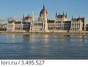 Будапешт.Здание парламента (2011 год). Стоковое фото, фотограф Igor5 / Фотобанк Лори