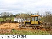 Сельский пейзаж. Стоковое фото, фотограф Камиля Сайдашева / Фотобанк Лори