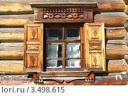 Купить «Окно помещичьего дома», фото № 3498615, снято 22 июня 2011 г. (c) Лия Покровская / Фотобанк Лори