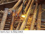 Нарезка металла. Стоковое фото, фотограф Vladimir Shashkin / Фотобанк Лори