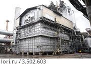Металлургический завод, производственное сооружение. Стоковое фото, фотограф Хромушин Тарас / Фотобанк Лори