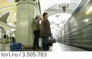 Купить «Метро, таймлапс», видеоролик № 3505783, снято 12 июня 2008 г. (c) Losevsky Pavel / Фотобанк Лори