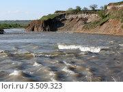 Купить «Река Кубань», фото № 3509323, снято 28 апреля 2012 г. (c) Игорь Веснинов / Фотобанк Лори