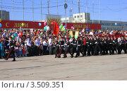 Парад Победы (2012 год). Редакционное фото, фотограф Татьяна Плешакова / Фотобанк Лори