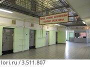 Купить «Тюремный коридор», эксклюзивное фото № 3511807, снято 16 апреля 2012 г. (c) Free Wind / Фотобанк Лори