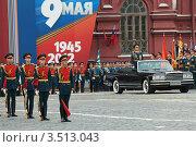 Купить «Празднование Дня Победы на Красной площади в Москве», фото № 3513043, снято 9 мая 2012 г. (c) Игорь Долгов / Фотобанк Лори