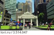 Купить «Улицы Сингапура. Таймлапс», видеоролик № 3514047, снято 14 мая 2012 г. (c) Перов Евгений / Фотобанк Лори