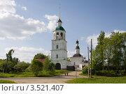 Колоцкий монастырь в Московской области (2011 год). Стоковое фото, фотограф Солодовникова Елена / Фотобанк Лори