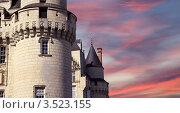 Купить «Фрагмент замка Юссе (Спящая красавица), Франция, Луара», фото № 3523155, снято 7 мая 2012 г. (c) Владимир Журавлев / Фотобанк Лори