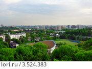 Панорама  Минска (2012 год). Стоковое фото, фотограф Наталия Журова / Фотобанк Лори