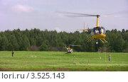 Купить «Соревнования по вертолетному спорту», видеоролик № 3525143, снято 5 марта 2009 г. (c) Losevsky Pavel / Фотобанк Лори
