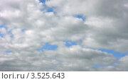 Купить «Облачное небо», видеоролик № 3525643, снято 13 сентября 2008 г. (c) Losevsky Pavel / Фотобанк Лори
