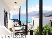Вид с балкона. Стоковое фото, фотограф Денис Шелехов / Фотобанк Лори