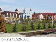 Купить «Парк Тысячелетия в Казани. Римско-католический приход.», фото № 3526035, снято 5 мая 2012 г. (c) Ирина Андреева / Фотобанк Лори