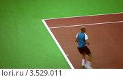 Купить «Выступление Николая Давыденко на Кремлевском Кубке по теннису, 2008 год», видеоролик № 3529011, снято 16 октября 2008 г. (c) Losevsky Pavel / Фотобанк Лори
