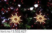 Купить «Новогодняя елка», видеоролик № 3532627, снято 24 декабря 2008 г. (c) Losevsky Pavel / Фотобанк Лори