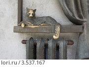 Купить «Памятник первому отопительному радиатору», фото № 3537167, снято 13 мая 2012 г. (c) Акиньшин Владимир / Фотобанк Лори