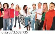 Купить «Улыбающиеся люди», видеоролик № 3538735, снято 16 марта 2009 г. (c) Losevsky Pavel / Фотобанк Лори