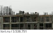 Купить «Строительство дома, таймлапс», видеоролик № 3538751, снято 1 апреля 2009 г. (c) Losevsky Pavel / Фотобанк Лори
