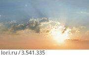 Купить «Рассвет», видеоролик № 3541335, снято 31 августа 2009 г. (c) Losevsky Pavel / Фотобанк Лори