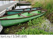 Купить «Две шлюпки», фото № 3541695, снято 11 мая 2012 г. (c) Татьяна Кахилл / Фотобанк Лори