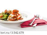 Купить «Свежий салат Капрезе», фото № 3542679, снято 17 апреля 2012 г. (c) CandyBox Images / Фотобанк Лори