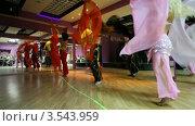 Танец живота. Стоковое видео, видеограф Losevsky Pavel / Фотобанк Лори