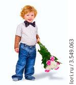 Купить «Цветы для мамы», фото № 3549063, снято 11 апреля 2010 г. (c) Лукаш Дмитрий / Фотобанк Лори