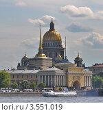 Санкт-Петербург, Адмиралтейство, Исаакиевский собор (2010 год). Редакционное фото, фотограф Алексей Ильинский / Фотобанк Лори