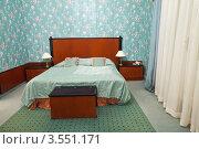 Купить «Интерьер спальни», эксклюзивное фото № 3551171, снято 23 ноября 2011 г. (c) Яков Филимонов / Фотобанк Лори