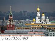 Московский Кремль. Сверху (2011 год). Стоковое фото, фотограф Зобков Георгий / Фотобанк Лори