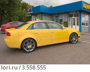 Купить «Ауди (Audi RS4)», фото № 3558555, снято 31 мая 2012 г. (c) Зобков Георгий / Фотобанк Лори