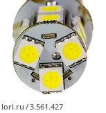 Купить «Светодиодная автомобильная лампа», фото № 3561427, снято 8 января 2012 г. (c) Денис Дряшкин / Фотобанк Лори