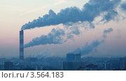 Купить «Дым из фабричных труб, таймлапс», видеоролик № 3564183, снято 19 мая 2010 г. (c) Losevsky Pavel / Фотобанк Лори