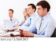 Купить «Команда деловых людей», фото № 3564967, снято 6 апреля 2012 г. (c) Raev Denis / Фотобанк Лори