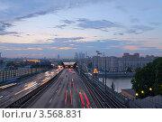 Купить «Третье транспортное кольцо, Москва», фото № 3568831, снято 18 мая 2012 г. (c) Зубов Александр / Фотобанк Лори