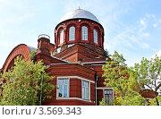 Церковь Георгия в Грузинах. Москва (2012 год). Стоковое фото, фотограф Скитева Екатерина / Фотобанк Лори