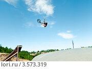 Купить «Слоуп-стайл. Тренировка прыжков», эксклюзивное фото № 3573319, снято 27 мая 2012 г. (c) Ольга Визави / Фотобанк Лори