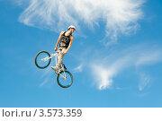 Купить «Слоуп-стайл. Тренировка прыжков», эксклюзивное фото № 3573359, снято 27 мая 2012 г. (c) Ольга Визави / Фотобанк Лори