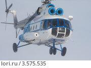 Купить «Вертолет Ми-8 в полете», фото № 3575535, снято 30 марта 2012 г. (c) Пьянков Александр / Фотобанк Лори