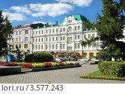 Купить «Город Омск, Зал органной и камерной музыки», фото № 3577243, снято 29 июля 2010 г. (c) Виктор Топорков / Фотобанк Лори
