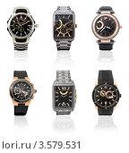 Купить «Мужские наручные часы», фото № 3579531, снято 14 декабря 2019 г. (c) Александр Подшивалов / Фотобанк Лори