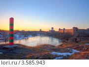 Граница между Россией и Эстонией (2012 год). Стоковое фото, фотограф Литвяк Игорь / Фотобанк Лори