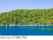 Купить «Морской пейзаж», фото № 3586763, снято 24 июня 2009 г. (c) Михаил Смиров / Фотобанк Лори