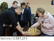 Купить «Шахматная партия», эксклюзивное фото № 3587211, снято 24 апреля 2012 г. (c) Free Wind / Фотобанк Лори