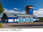 Купить «Пожарная часть в городе Добрянка. Пермский край», фото № 3590271, снято 11 июня 2012 г. (c) Андрей Щекалев (AndreyPS) / Фотобанк Лори